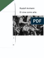 Arnheim, Rudolf - El Cine como Arte