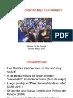 2017 Discurso y Realidad Bajo Evo Morales