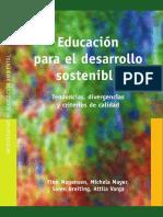 Monografias de Educacion Ambiental Educacion