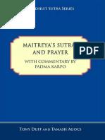 Tony Duff and Tamash Agocs - Maitreya's Sutras and Prayer