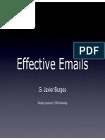 Effective Emails by Javier Burgos via EMAIL [Modo de Compatibilidad]