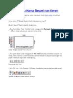 Desain Kartu Nama Simpel nan Keren.doc