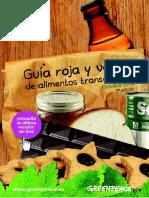 Guia Roja y Verde de Alimentos No Transgenicos