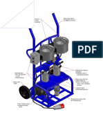 Feature of Oil Cleaner Cart
