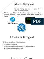 Overview Lean 6 Sigma