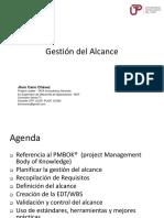1. FyAPI - Gestión Del Alcance