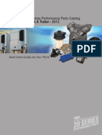 20 Series Spare Parts Manual August 2012