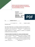 4.MODELO DE RECURSO DE APELACION FUNDADO EN NULIDAD DE RESOLUCION QUE NO ESTA DEBIDA.docx