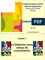 Didactica General Unidad I 2017