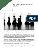 Enciclopedia Con Todos Los Tipos de Modelo de Negocio Existentes