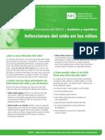 NIDCD Ear Infections Spanish