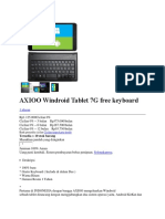 AXIOO Windroid Tablet 7G free keyboard.docx