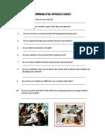 2 Communicative Approach Survey