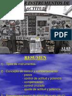 Ai-03 Vuelo Por Instrumentos de Actitud
