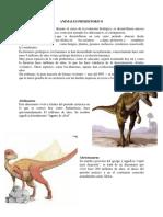 Animales Prehistorico