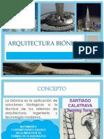 ARQUITECTURA BIONICA