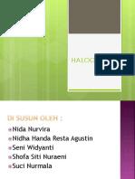 Presentasi Halogen