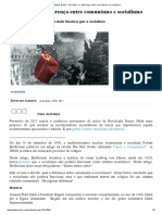 Mises Brasil - Karl Marx e a Diferença Entre Comunismo e Socialismo