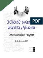 Gestion de documentos y aplicaciones