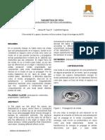 Informe de Laboratorio Nº1 ONDAS