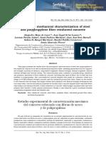 Estudio Experimental de Caracterización Mecánica Del Concreto Reforzado Con Fibras de Acero y de Polipropileno
