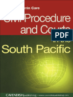 Corrin-Care Civil Procedure & Courts in the South Pacific South Pacific Law 2004