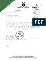 Informe Comision Sobre Pedido Aprobacion Convencion Red de Acuicultura de Las Americas 21-09-2013