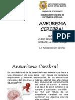 ANEURISMA CEREBRALparte1
