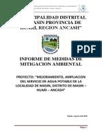 Medidas de Mitigacion Ambiental