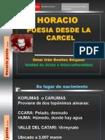 Horacio Poesia Desde La Carcel