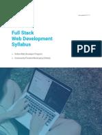 FS Online FullStack Syllabus