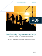 productivity improvement study