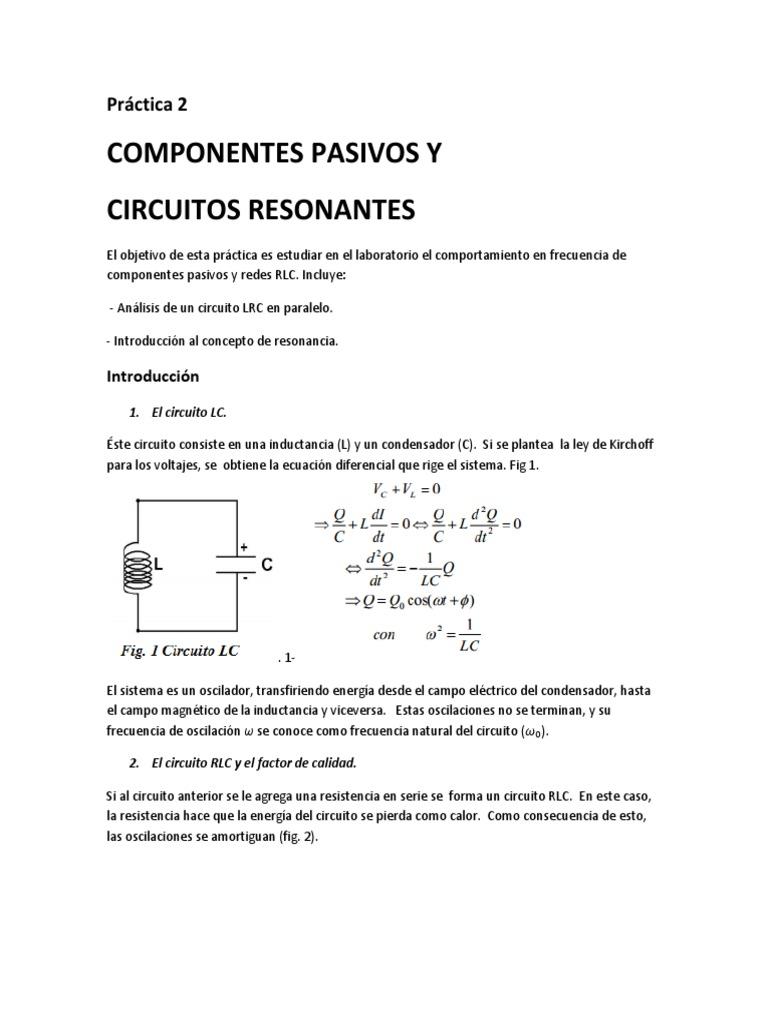 Circuito Lc : Creazioni varie amplificatore audio mw e circuito lc per onde