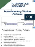 Procedimientos y Técnicas Periciales