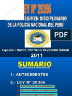 01 Exposiciòn Ley de Regimen Disciplinario Revoredo 2011