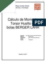 Momento Torsor Berger Lahr