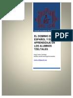 Articulo Dominio Del Español