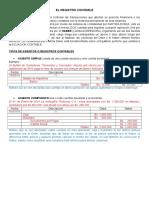 Tema IV - Registro Contable