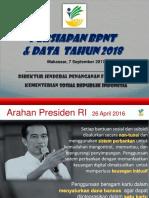 Persiapan BPNT Dan Data Tahun 2018 7 September 2017