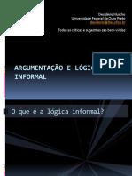 Argumentação e lógica informal - Desidério Murcho (1)