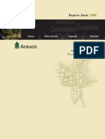 Arauco - 2006 Memoria e Informe de Responsabilidad Social y Ambiental