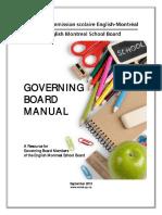 Governing Board Manual 2013 14
