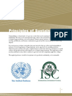 Principles for Sustainability