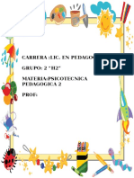 Metodologia de La Educacion Preescolar