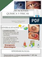 Causticaciones Quimica y Fisicas