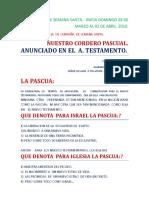 280310 El Cordero Pascual Inicio Fin