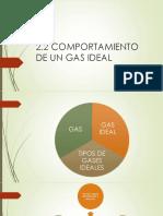 Comportamiento de Un Gas Ideal