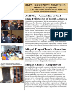 Mizpah Newsletter for July 2010