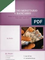 Derecho Monetario y Bancario Sesión 4 2017 II