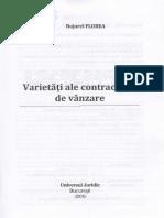 Varietati Ale Contractului de Vanzare - Bujorel Florea